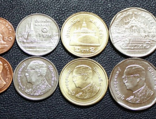 What do you do with satang coins?