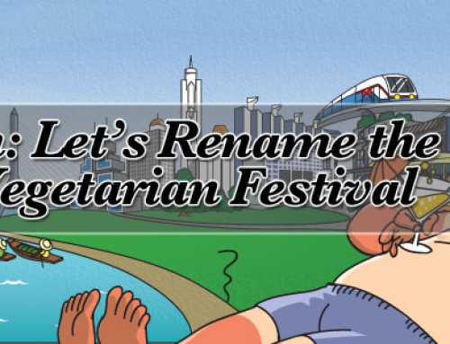 Petition: Let's Rename the Thai Vegetarian Festival