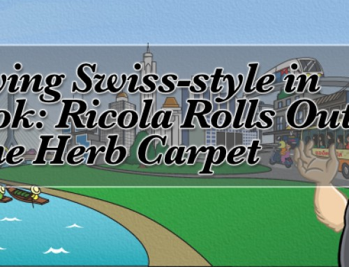 Partying Swiss-style in Bangkok: Ricola Rolls Out the Herb Carpet