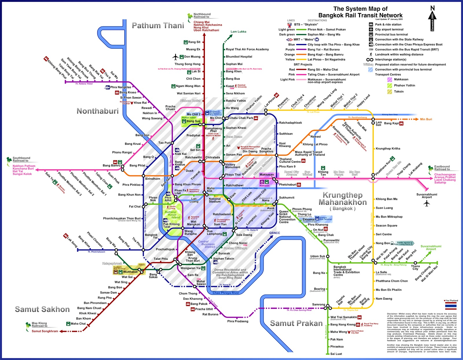 Finally, a (Mostly) Accurate Map of Bangkok's Transit Future